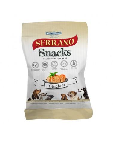 Snack Serrano Traditional formula con Pollo 100 Gr