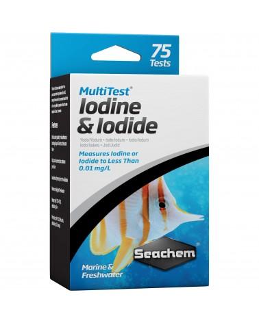 Seachem MultiTest Iodine & Iodide