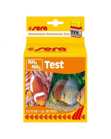 Sera Test Ammoniaca NH4/NH3 acqua dolce, marina e laghetto