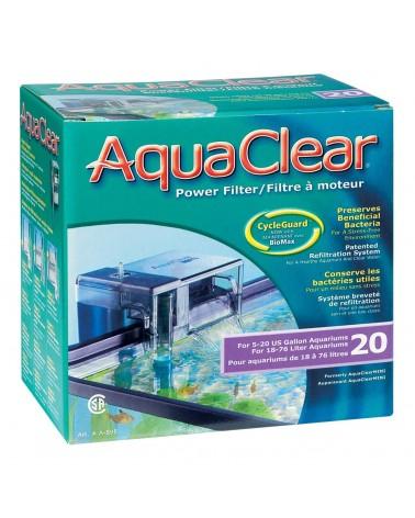 Filtro esterno a zainetto Aquaclear 20