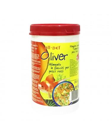 Oliver Mangime completo in fiocchi per pesci rossi 60 Gr
