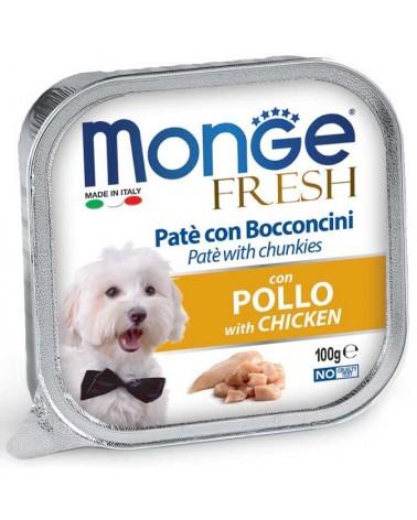 Monge Fresh Paté e Bocconcini di Pollo 100 Gr