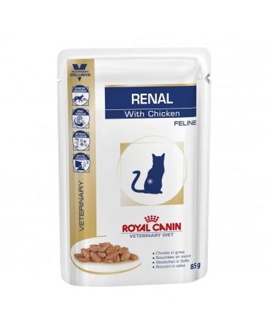 Royal Canin Gatti Veterinary Renal umido con Pollo 85 Gr