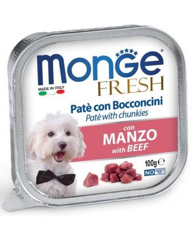 Monge Fresh Paté e Bocconcini di Manzo 100 Gr