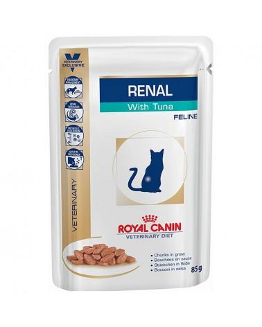 Royal Canin Gatti Veterinary Renal umido con Tonno 85 Gr