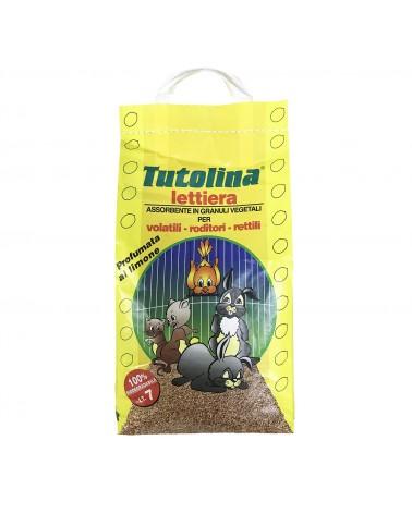 Tutolina lettiera assorbente in granuli vegetali 7 Litri