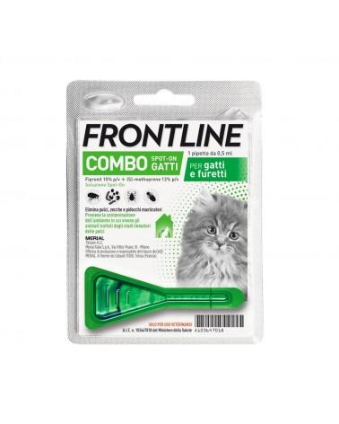 Frontline Combo Gatti e furetti soluzione Spot-ON 1 pipetta