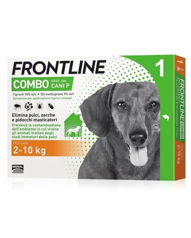 Frontline Combo Cani soluzione Spot-ON 1 pipetta 2-10 Kg