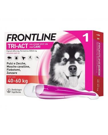 Frontline Tri-Act Cani soluzione Spot-ON 1 pipetta 40-60 Kg