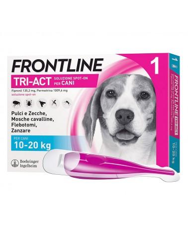 Frontline Tri-Act Cani soluzione Spot-ON 1 pipetta 10-20 Kg