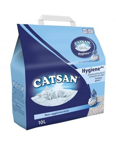 Catsan Hygiene plus Lettiera per Gatti 10 litri