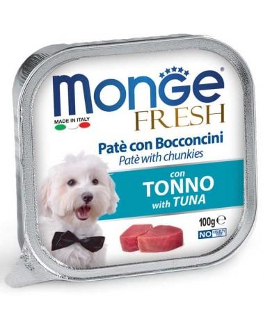 Monge Fresh Paté e Bocconcini di Tonno 100 Gr