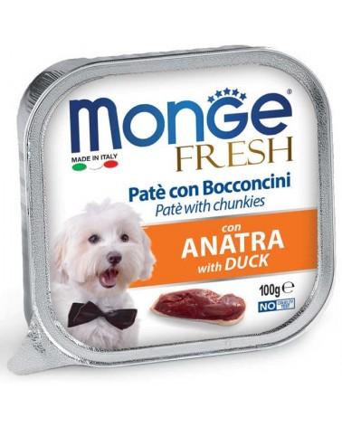 Monge Fresh Paté e Bocconcini di Anatra 100 Gr