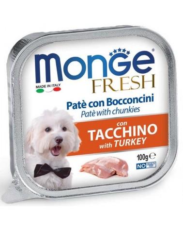 Monge Fresh Paté e Bocconcini di Tacchino 100 Gr