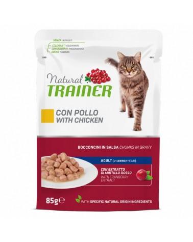 Natural Trainer Adult Gatti con Pollo 85 Gr