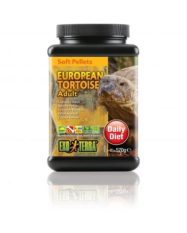 Exo Terra Soft Pellets European Tortoise Adult / Pellet morbidi 570 Gr