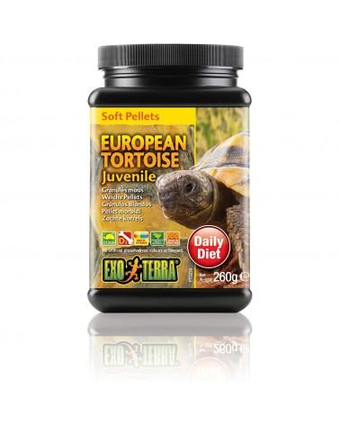Exo Terra Soft Pellets European Tortoise Juvenile / Pellet morbidi 260 Gr