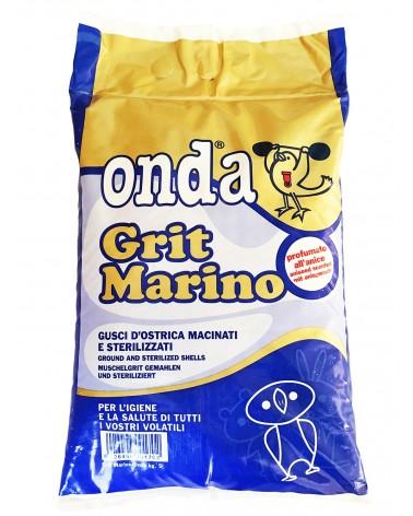 Onda Grit Marino lettiera ai gusci d'ostrica per uccelli 5 Kg