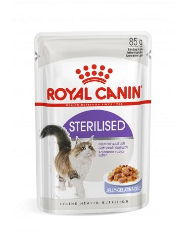 Royal Canin Gatti Adult Sterilised Fettine in gelatina 85 Gr