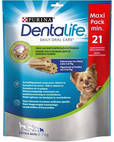 Dentalife Stick Cani da 2-7 Kg Small MaxiPack min 21 Pezzi
