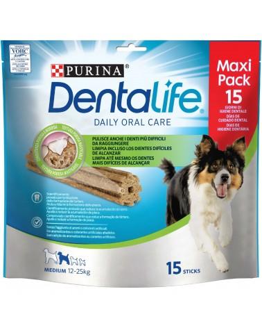 Dentalife Stick Cani 12-25 Kg Small da 345g MaxiPack 15 Pezzi